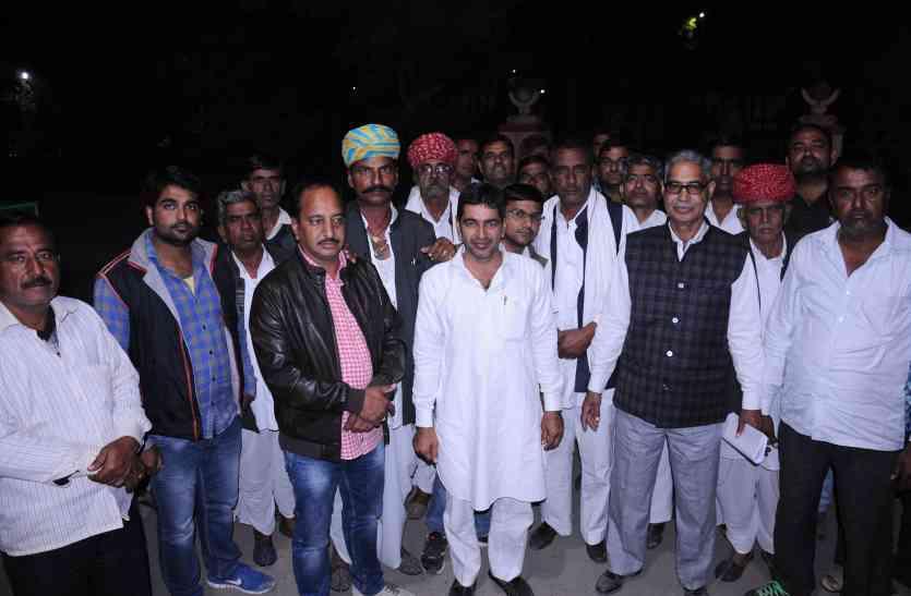 जेटीए की बर्खास्तगी के विरोध में उतरे नागौर  जिले के सरपंच