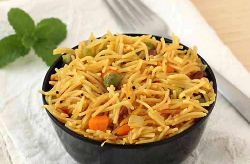 कई सब्जियों के साथ बनाएं पौष्टिक सेवईयां