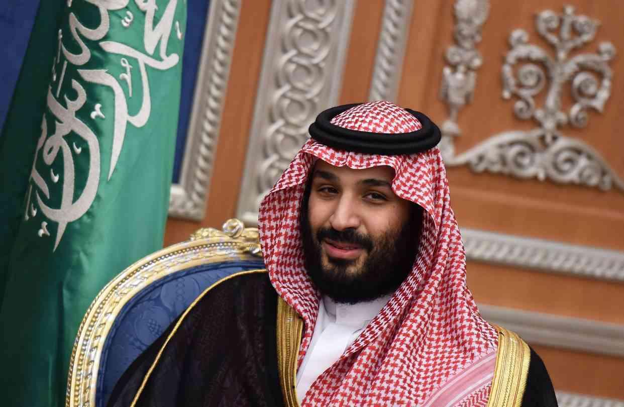 Saudi crown prince, Mohammed bin