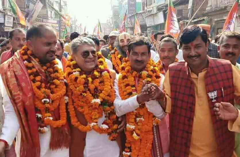 अयोध्या : केंद्र और प्रदेश की सत्ता के बाद नगर की सरकार में भी बीजेपी के आगे विपक्ष कमज़ोर