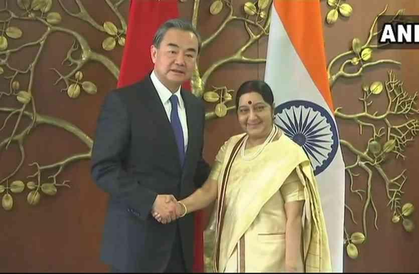 डोकलाम क्षेत्र में फिर हलचल, चीनी विदेश मंत्री से मिली सुषमा स्वराज