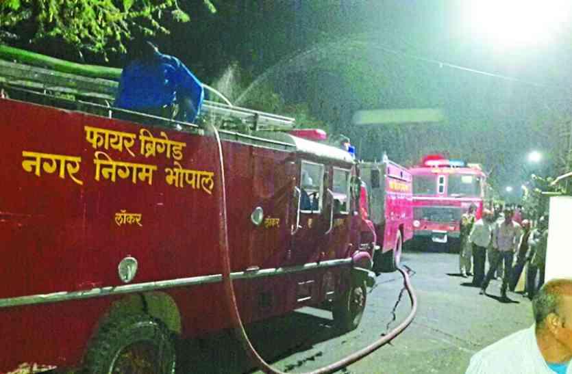 बड़ी खबर: MP के इस मंत्री के बंगले में आग लगने से मचा हड़कंप, आॅफिस हुआ जल कर खाक