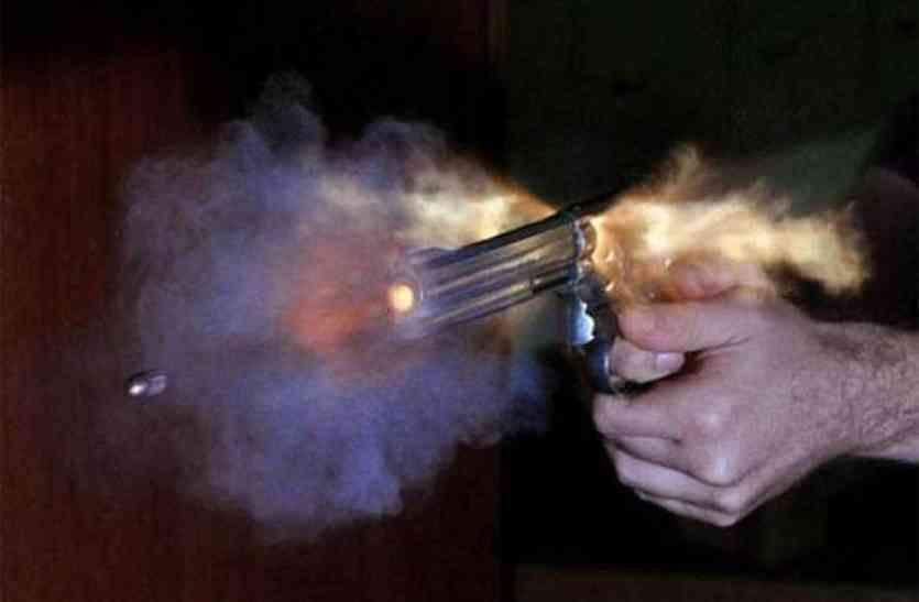 फायरिंग की बढ़ती घटनाओं से राजधानी में फैली दहशत, नशे में धुत युवक ने कहासुनी के बाद साथी को मारी गोली