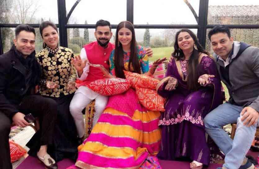 Virat - Anushka की हुई शादी, अब 21 को दिल्ली और 26 को मुंबई में पार्टी