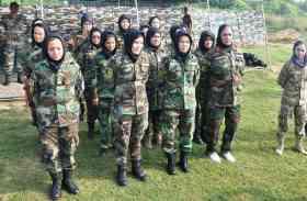 ओटीए में प्रशिक्षण ले रही 20 अफगानी महिला कैडेट
