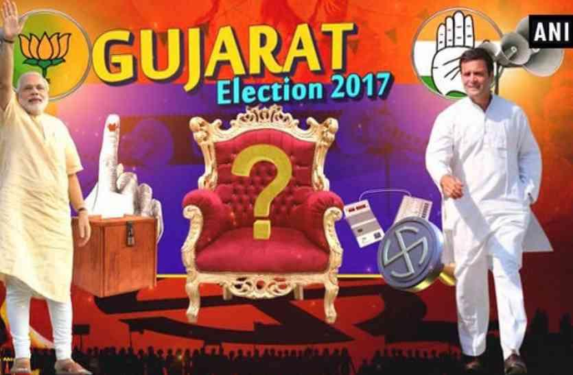 Video: गुजरात में दूसरे चरण का मतदान शुरू, 93 सीटों पर पड़ रहे वोट