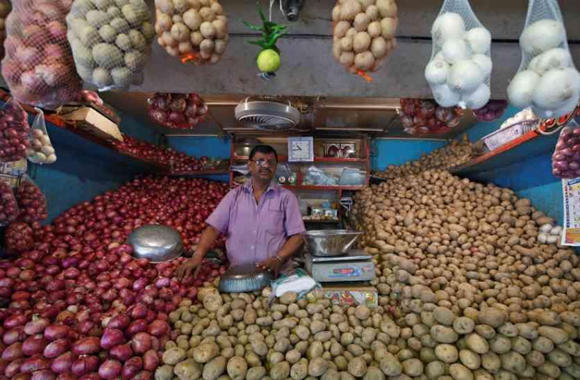फल - सब्जियों के चलते 8 महीने के उच्चतम स्तर पर पहुंची थोक महंगाई दर