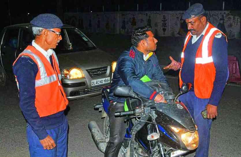 राजस्थान पुलिस अब दुर्घटनाओं से बचने के लिए कर रही है यह काम