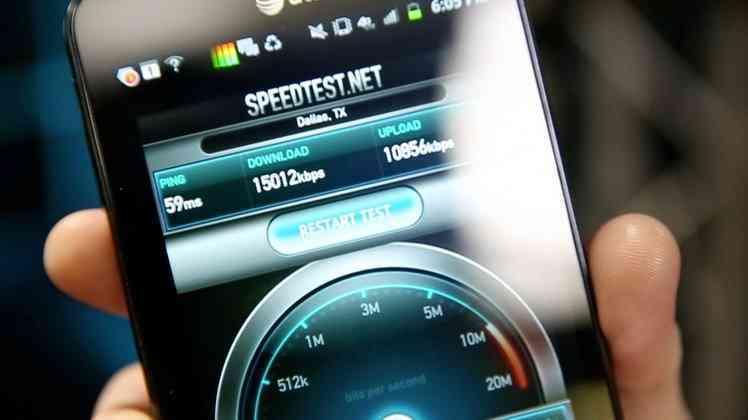 Mobile internet speed