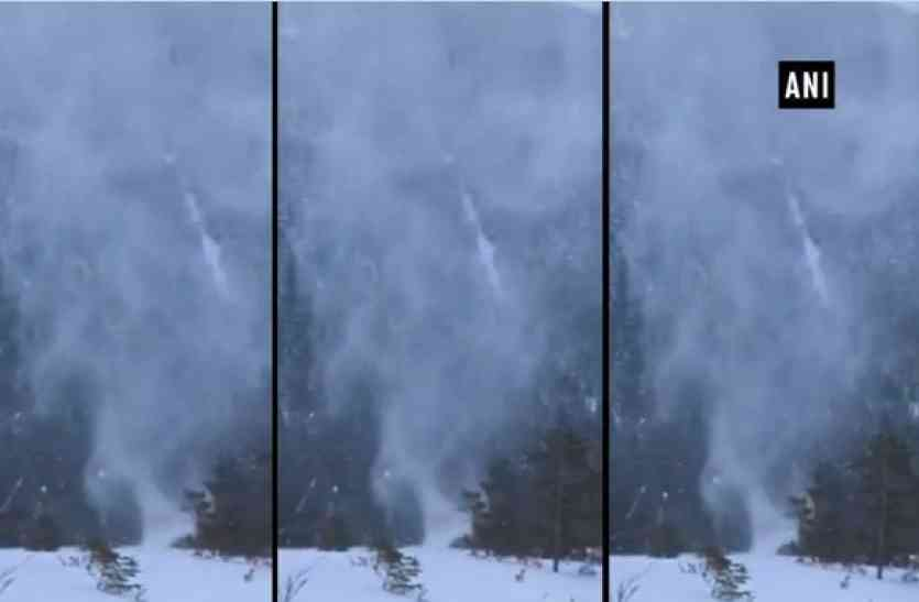 Video: कैमरे में कैद हुआ Snownado, आप भी देखकर रह जाएंगे हैरान