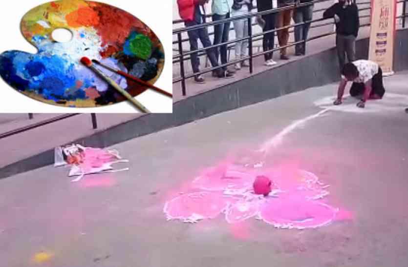 जयपुर आर्ट समिट में दिखा हुनरबाजों की कलाकारी, बैंगल्स से बनी महिला ने खिंचा ध्यान तो इन्होंने बटोरी सुर्खियां