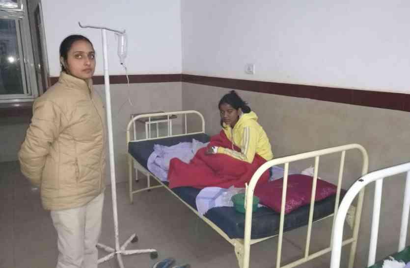 महिला डकैत चंदा गड़रिया अस्पताल में भर्ती