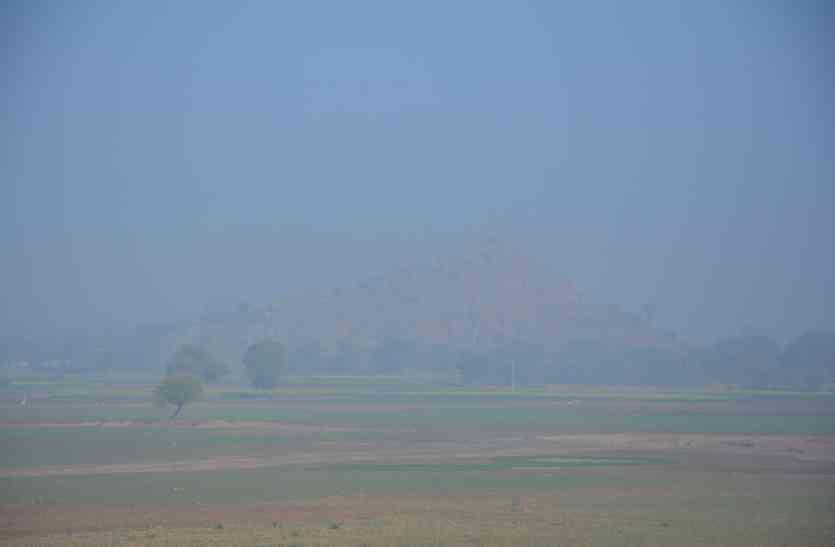 राजस्थान के इस जिले में 16 डिग्री तक गिरा तापमान, 1 दर्जन से अधिक ट्रेनें हुई लेट