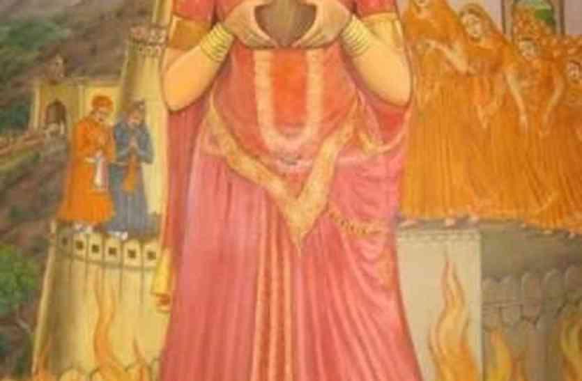 उदयपुर में तीन महीने में लगेगी रानी पद्मिनी की प्रतिमा, विभूति पार्क में एक करोड़ में स्थापित होंगी नौ मूर्तियां