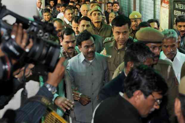 Image result for ए राजा की गिरफ्तारी-