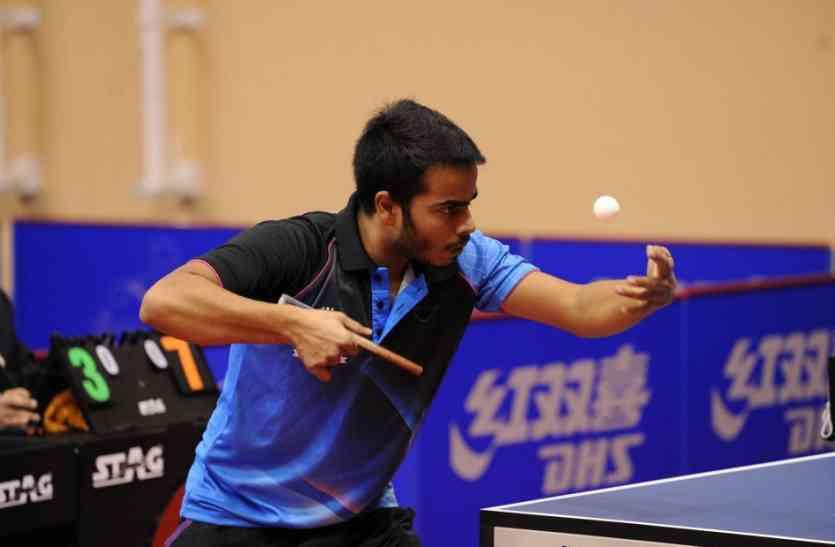 रमन ने इंटरनेशनल टेबल टेनिस प्रतियोगिता खेली