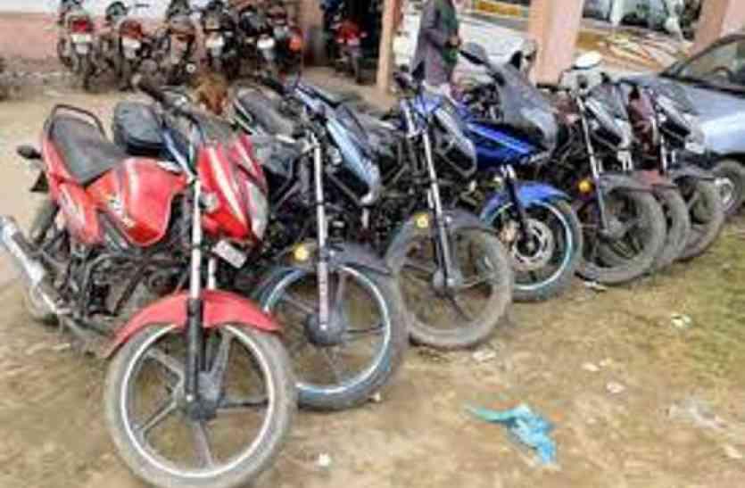 MP के इस शहर में साल भर में हुईं डेढ़ करोड़ रुपए की बाइक चोरी, अन्य राज्यों से भी आती हैं चोरी की बाइक्स