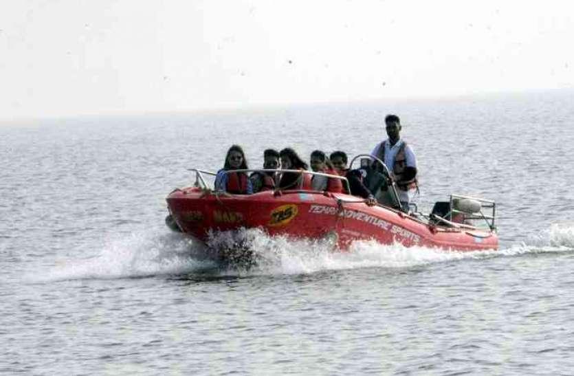 बिना लाव लश्कर शुरू कर दिया गांधीसागर पर्यटन केंद्र