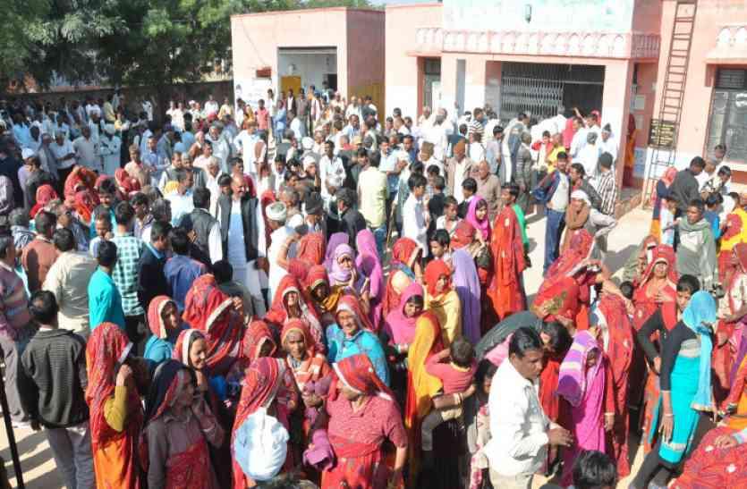 देरवाला में ट्रीटमेंट प्लांट के खिलाफ ग्रामीणों का अनोखा विरोध, इसलिए सरपंच चुनाव से भी ज्यादा दिखा उत्साह