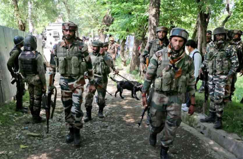 कश्मीर घाटी में हमले की साजिश नाकाम, जैश कमांडर मुठभेड़ में ढेर