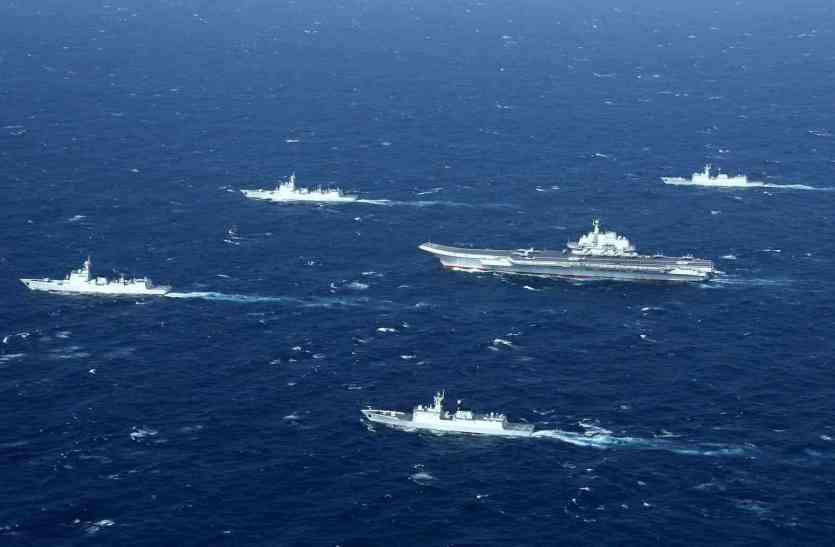 चीन ने दक्षिण चीनी सागर में कब्जा किए गए द्वीपों पर बढ़ाया नियंत्रण