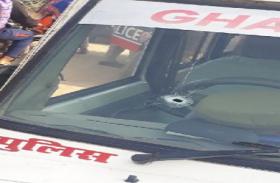 गाजियाबाद में पुलिस और बदमाशों के बीच फिर दिनदहाड़े हुई मुठभेड़