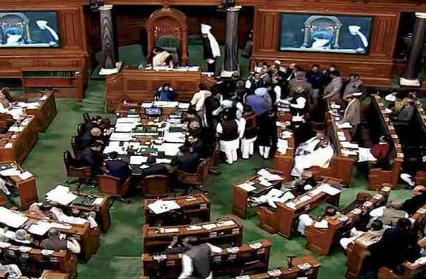 हेगड़े के विवादित बोल पर संसद में घमासान, बाबा साहेब के अपमान का आरोप