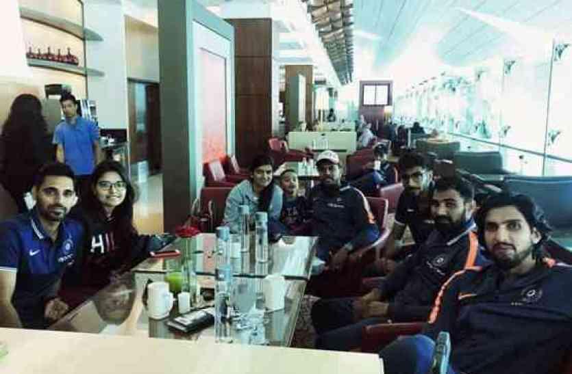 PICS: कुछ इस अंदाज में दक्षिण अफ्रीका में मजे कर रहे भारतीय क्रिकेटर्स