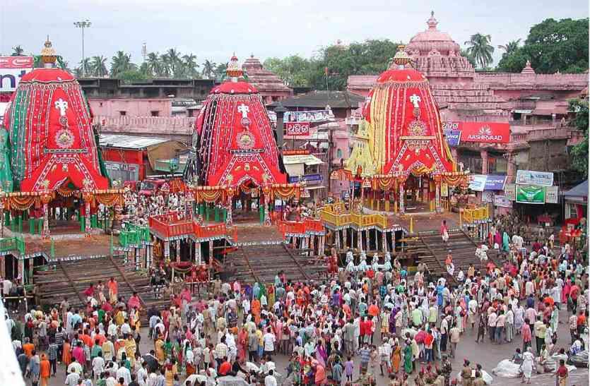 भगवान जगन्नाथ की रक्ष यात्रा में शामिल होंगे 5 लाख भक्त, सुरक्षा कड़ी