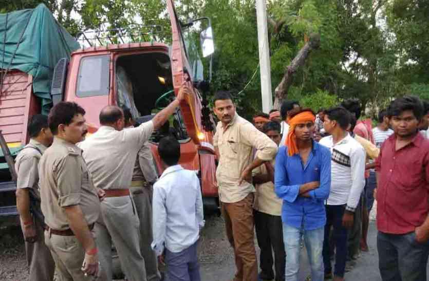 तमंचे के बल पर लूट, ट्रक चालक व खलासी के हाथ-पांव बांधकर प्रतापगढ़ जिले में फेंका