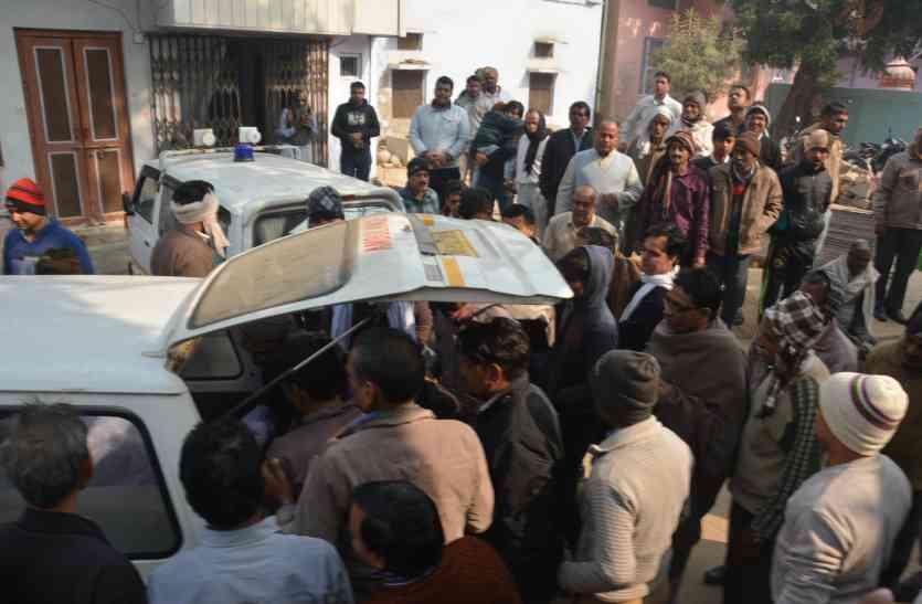 यहां कोहरे के बीच पोखर में गिरी गाड़ी, एक परिवार के चार जनों की मौत