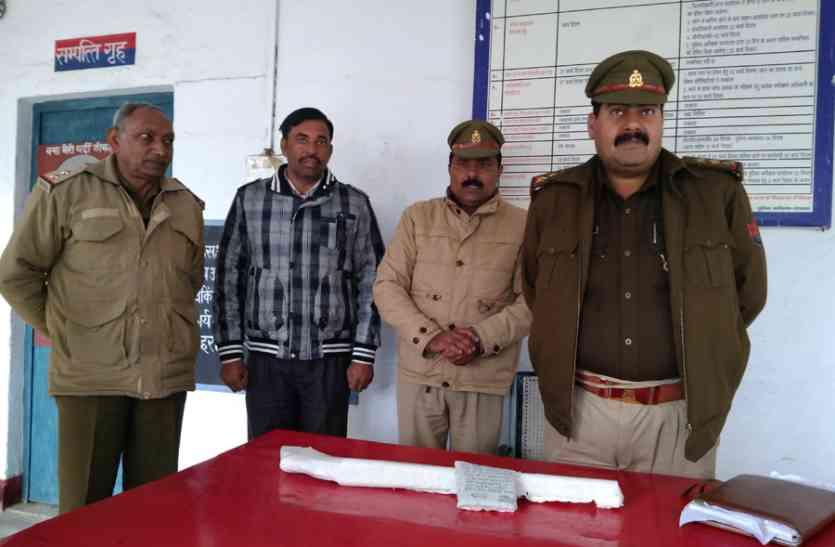 हर्ष फायरिंग का आरोपी सूबेदार बंदूक सहित गिरफ्तार