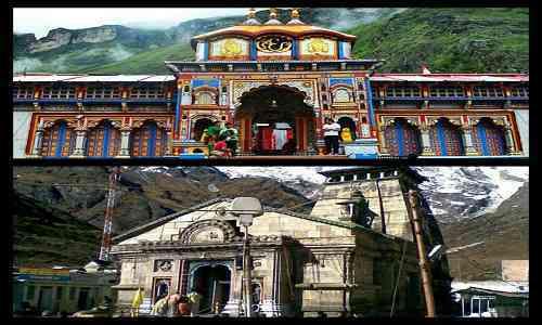 Badrinath,Kedarnath,Hindu shrines,mandakini river,jyotirlinga darshan,