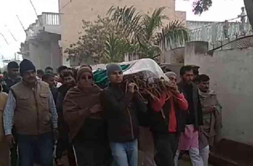 LIVE: शामली मुठभेड़ में शहीद हुए सिपाही का कुछ देर में होगा अंतिम संस्कार, सीएम ने की 50 लाख रुपये देने की घोषणा