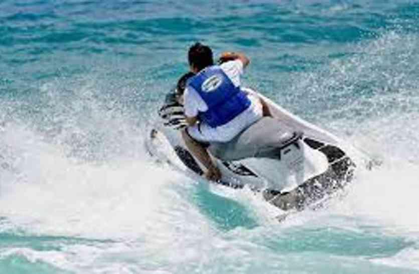 नर्मदा की लहरों ले सकेंगें Jet Ski  का रोमांच