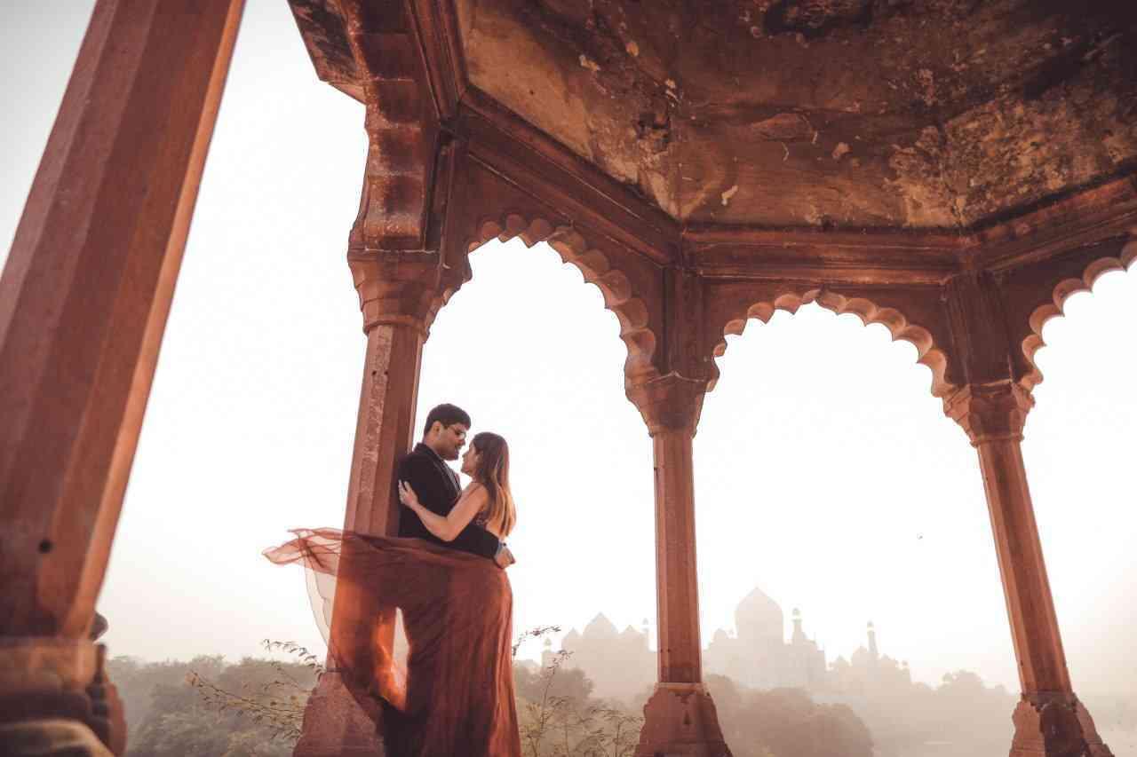 Paras And Chandani Pre wedding Photoshoot