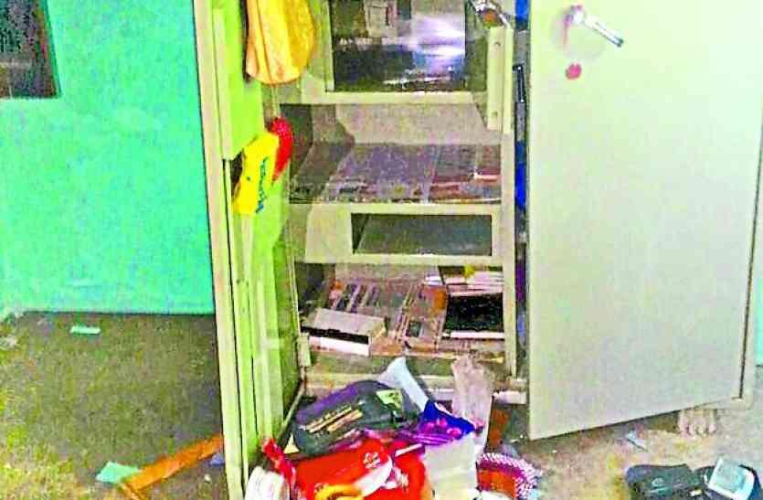 उदयपुर में यहां है चोरों का आतंक,  एक रात में तीन घरों के टूटे ताले, एक लाख के जेवर और नकदी चोरी