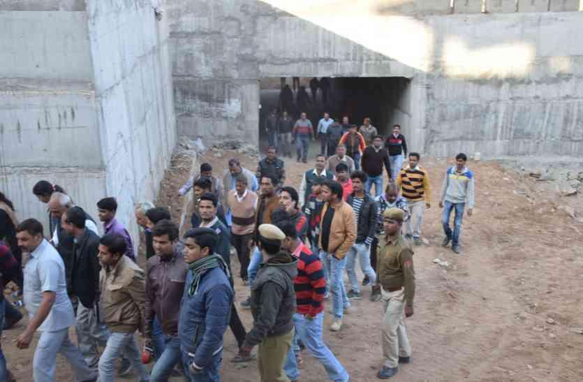 उदयपुर की टाइगर हिल क्षेत्र में यूआईटी ने करवाया निर्माण, अंडरपास का लोकार्पण कर बोले यूडीएच मंत्री...उदयपुर बनेगा नंबर-1 स्मार्ट शहर