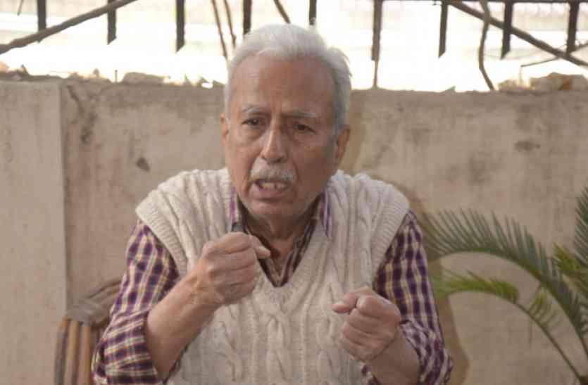 Patrika Utsav 2018: लेखक विनोद कुमार शुक्ल बोले - राजनीति ने लोगों का भोलापन खत्म कर दिया
