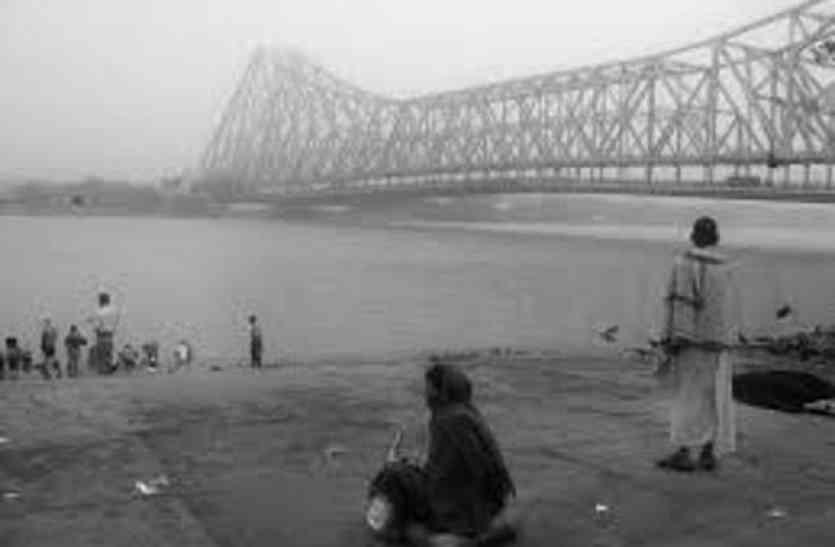 जाड़े ने कोलकाता को जकड़ा