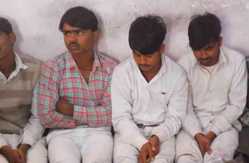अलवर में कांग्रेस रैली से पुलिस ने पांच लोगों को गिरफ्तार किया, इस खतरनाक काम को देने वाले थे अंजाम
