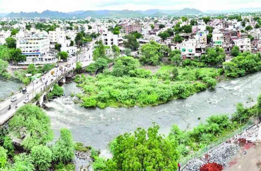 गृहमंत्री कटारिया ने यूआईटी में ली समीक्षा बैठक,आयड़ नदी के विकास को लेकर लिया ये बड़ा निर्णय