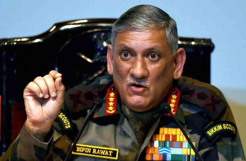 सेना प्रमुख ने कहा, परमाणु हथियार से नहीं डरेंगे, पाकिस्तान में घुसकर देंगे जवाब