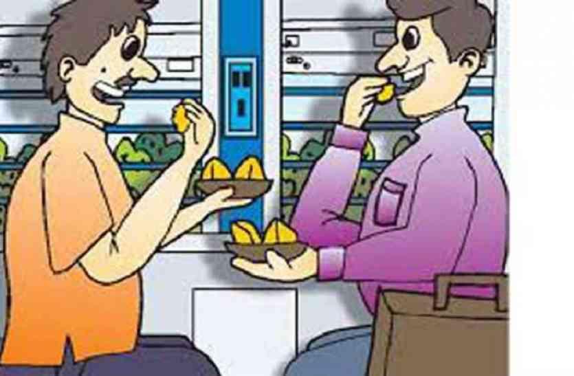 पश्चिम बंगाल मे नशीला चाय-बिस्कुट खिलाकर 2 रेलयात्रियों को लूटा