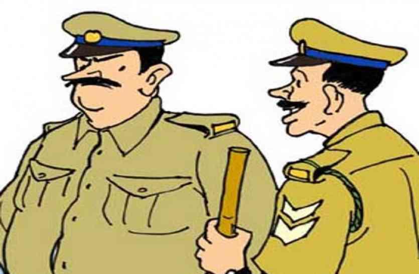 फर्जी कॉल से ठगी करने वाले अब पुलिस अफसर बन थानों में ही करने लगे हैं कॉल