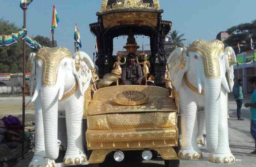 टीकमगढ़ में 22 से शुरू होगा पंचकल्याणक गजरथ महोत्सव, मुनि समयसागर का मिलेगा सानिध्य