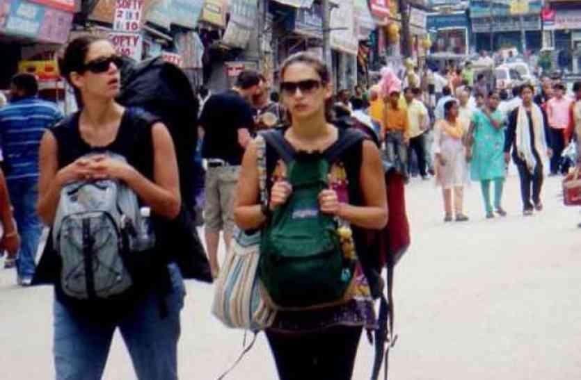 विदेशी पर्यटकों ने सिटी ब्यूटीफुल से मुंह मोड़ा