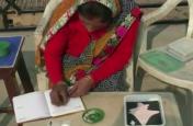 गजब : महिला ने तिल के दाने पर लिख दिया वंदे मातरम्, देखेें वीडियो...
