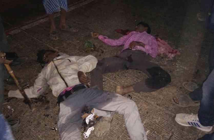 दो युवकों के खून से फिर लाल हुआ नेशनल हाईवे