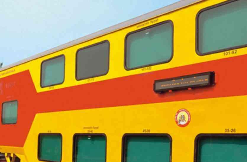जयपुर से लखनऊ डबल डेकर ट्रेन जल्द, मांग रखने वाले देश के 10 में से 3 सांसद राजस्थान के